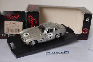 BANG 7101 MERCEDES 300 SL #7 LE MANS 1956 1/43