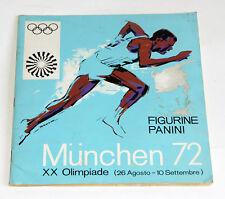 ALBUM PANINI MUNCHEN 72, completo -20 figurine e -38 stemmi (Cedola mancante)