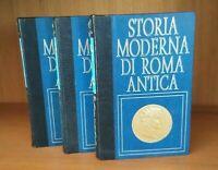 LIBRO: STORIA MODERNA DI ROMA ANTICA COMPLETA 18 volumi USCITI + regalo