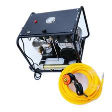 110V Scuba Snorkelling Diving Air Compressor Direct Breathing w/ Hose Regulator