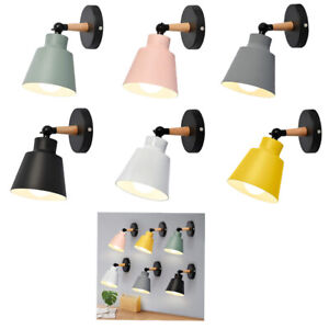 Modern Wall Light Bedroom Hallway Indoor Sconce Bedside Wall Lamp Plug in