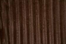 Faux Fur Brown MINK Pelt Fabric -- By the Yard