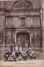 France Blenod-les-Toul - Portal de la Eglise old unused postcard