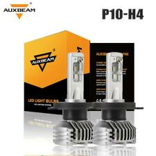 Auxbeam H4 9003 HB2 CREE LED Headlight Bulbs Conversion Kit High Low Beam 6000K