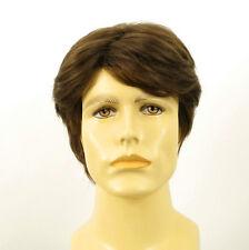 Perruque homme 100% cheveux naturel châtain clair ref OLIVIER 8