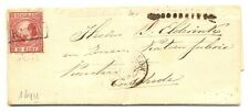 NEDERLAND 1870  LETTER PM= SPEC =OMMEREN= NAAR ENSCHEDE   NR# 8   F/VF
