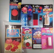 8 Piece Count Various Magic Tricks Starter Set Kit New Gag Gift Jokes