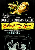 Sleep My Love (DVD) Claudette Colbert, Don Ameche