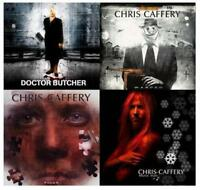 Lot of 4 new CHRIS CAFFERY CD's (of Savatage/Doctor Butcher) Faces,W.A.R.P.E.D +