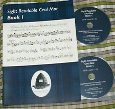 Sight Readable Ceol Mor and CDs Piobaireachd music book for highland bagpipes