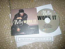 CD Pop Nelly - Work It (3 Song) Promo UNIVERSAL / Rap / Hiphop