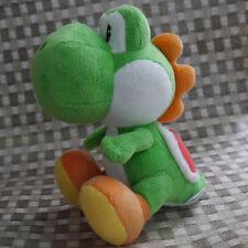 "Nintendo Super Mario Bros. sidekick Yoshi  6 1/2"" Green Plush Doll Toy"