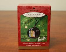 "Hallmark Keepsake Barbie Ornament  ""1961 BARBIE Hatbox Case"""