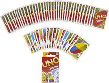 Mattel Uno Junior Juego de Cartas edades 3+ 2-4 jugadores ** nuevo **
