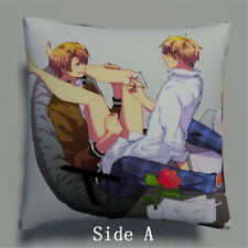 Axis Powers Hetalia US UK Anime Manga two sides Pillow Cushion Case Cover 396
