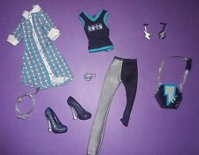 Monster High Doll Clothes Schools Out Wave 2 Frankie Stein Outfit Dress Shoes +