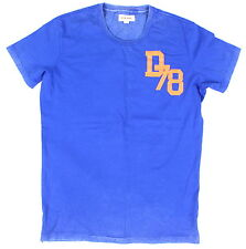 BRAND NEW DIESEL T-GIAVE-RS 87L BLUE T-SHIRT SIZE LARGE