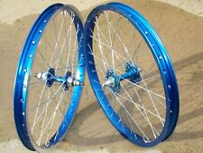 Old School Vintage BMX Araya 7x blue wheels mongoose hutch pk dg gt skyway nice