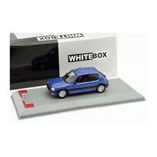 WHITEBOX 216957 Peugeot 205 GTI métallique bleu échelle 1:43 Maquette de voiture