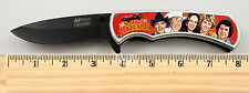 """The Dukes of Hazzard TV Show Limited Edition Spring Assisted Knife 4.5"""" w clip"""