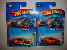 2005 Hot Wheels First Editions Mitsubishi Eclipse Concept Variation Lot FREE SHP