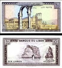 LIBANO - Lebanon 10 livres 1986 FDS - UNC