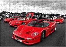 Ferrari F50 A4 JIGSAW Puzzle Birthday Christmas Gift (Can Be Personalised)