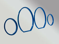Blaue Tacho Tachoringe LETRONIX Lack BMW E36 316 318 320 323 325 M3 CLIPSEN