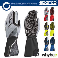 New! 002552 Sparco Kart MOTION KG-5 KG5 Karting Gloves High Grip Silicone Palms