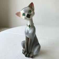 """Quail Ceramic Cat Squash 4/"""" Figurine Collectable Vet Dad Mum Christmas Gift NEW"""
