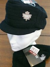 TORONTO MAPLE LEAFS LADIES LICENSED TOQUE NEW W/ TAGS FREE SHIPPING IN CANADA