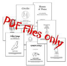 PDF files of 8 Song books for the 6 hole Native American Flute, 146 Songs