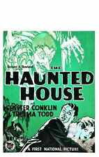 Haunted House 1928 Poster 01 A3 Box Canvas Print