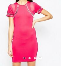 Girl in Mind Bodycon Dress with Embellished Trim