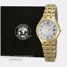 Authentic Citizen Eco-Drive Ladies Stainless Steel Corso Watch EW2482-53A