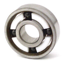 8 Quality Skateboard Low Friction Smoothest Hybrid Ceramic 608 Ball Bearings Set