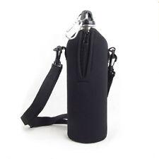 1000ML Neoprene Water Bottle Carrier Insulated Cover Bag Holder Strap Travel
