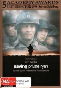 Saving Private Ryan DVD TOP 250 MOVIES Steven Spielberg Tom Hanks BRAND NEW R4