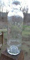 "Vintage ""Glittering Soda Water Works"" Blob Top Hutchenson"