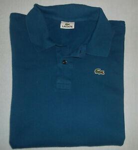 Lacoste Sport Poloshirt Gr. 9 oder Gr. XXXL blau 3XL
