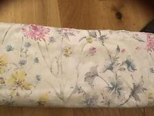 Laura Ashley Wild Meadow Multi Floral Double Duvet Cover + 2 Pillowcases Vgc
