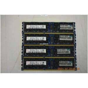 Hynix Hmt42gr7mfr4c ' Pb 64GB (4x16GB) PC3-12800 DDR3 ECC CL11 240P Rdimm