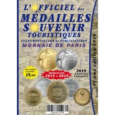 L'Officiel des Médailles-Souvenir 2019 Supplément 2015 avec les deux médailles