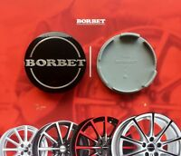 1 BORBET NABENDECKEL / FELGENDECKEL / NABENKAPPE / CENTER CAP 56mm NEU, ORIGINAL