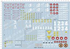 1/60 Zero VF-0S Macross deformation C Model Kit Water Decal