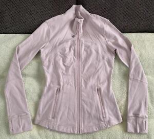 Lululemon Define Jacket Porcelain Pink First Release 4 Full Zip Luon W4F82S