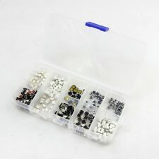 250 Pcs Push Button Switch SMD DIP Assortment Kit with Box