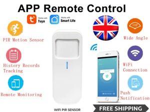 Tuya Smart Motion PIR Sensor Detector WIFI Movement Sensor Smart Life APP UK HOT