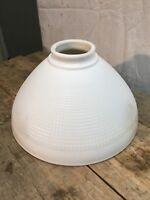 Vintage  light shade lamp replacement white milk glass hurricane lamp Globe