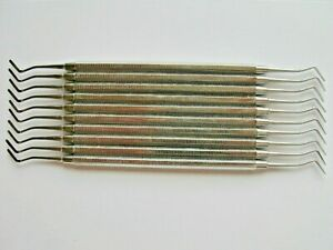 10 Plastic filling instruments no. 3 quality dental instruments German steel